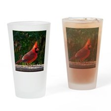 cardinalPil Drinking Glass