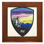 Mesquite Constable Framed Tile