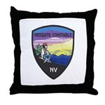 Mesquite Constable Throw Pillow