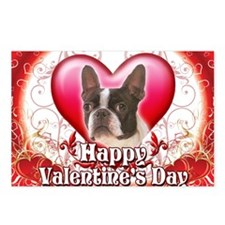 Happy Valentines Day Bost Postcards (Package of 8)