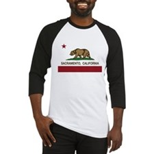 california flag sacramento Baseball Jersey