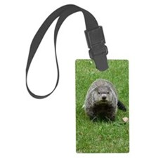 GrHog7.5x9.5 Luggage Tag