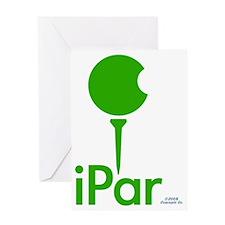 iPar GREEN Greeting Card