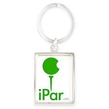 iPar GREEN Portrait Keychain