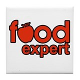 Food Expert Tile Coaster