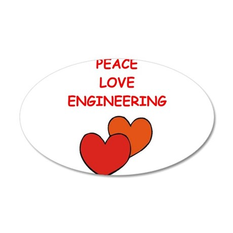 engineering Wall Decal