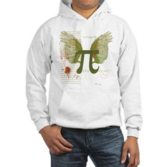 Winged Pi Hooded Sweatshirt
