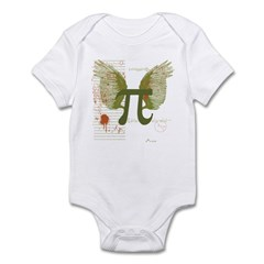 Winged Pi Infant Bodysuit
