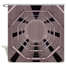 Space Station 1 Shower Curtain
