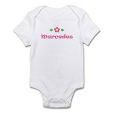 "Pink Daisy - ""Mercedes"" Infant Bodysuit"