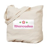 Pink Daisy - &quot;Mercedes&quot; Tote Bag