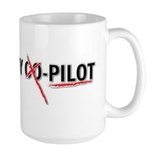 bs_jesus_is_my_copilot_cross Mug