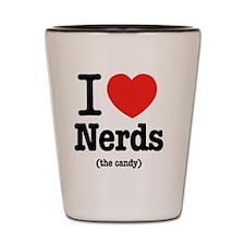 i_love_nerds Shot Glass