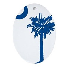 SCtree Oval Ornament