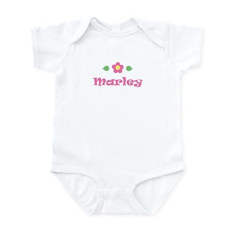"Pink Daisy - ""Marley"" Infant Bodysuit"