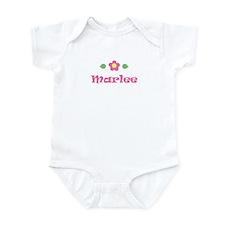 "Pink Daisy - ""Marlee"" Infant Bodysuit"