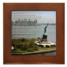New Colossus Framed Tile