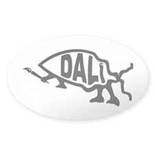 Dali Fish Oval Decal
