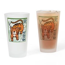 TigerTshirt Drinking Glass
