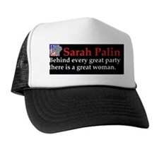 aaapalelephant_republican_3d Trucker Hat