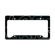 dklostwars License Plate Holder