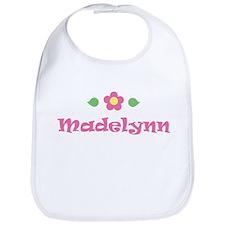 "Pink Daisy - ""Madelynn"" Bib"