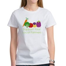 """Support Your Local Farmers"" Tee"