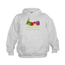 """Support Your Local Farmers"" Hoodie"