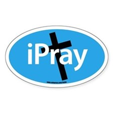 IPRAY Oval Decal