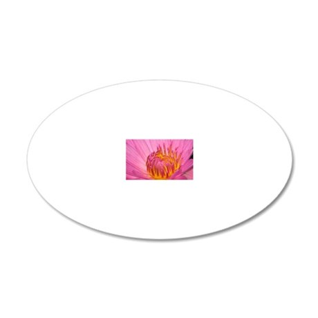 ThaiFlower-Large 20x12 Oval Wall Decal