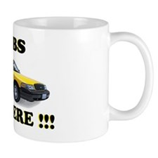 cabs are here-2 Mug