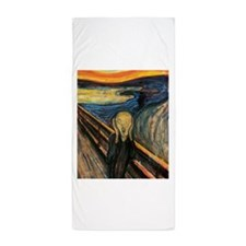 The Scream Beach Towel