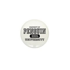 Penguin University Mini Button (10 pack)