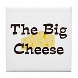 The Big Cheese Tile Coaster