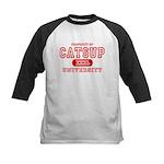 Catsup University T-Shirts Kids Baseball Jersey
