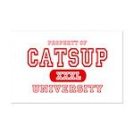 Catsup University T-Shirts Mini Poster Print