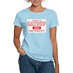 Catsup University T-Shirts Women's Pink T-Shirt