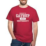Catsup University T-Shirts Dark T-Shirt
