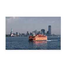 (3) Staten Island Ferry Rectangle Car Magnet
