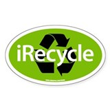 IRECYCLE Oval Decal