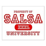 Salsa University Small Poster