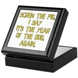 Screw the Pig Keepsake Box