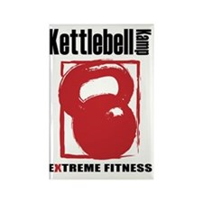 Kettlebell Kamp Logo 50% Rectangle Magnet