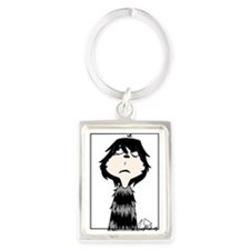 Jojo___from_horton_hears_a_who_b Portrait Keychain
