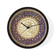 Aziz_efendi_bismillah Wall Clock