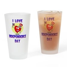 Independence day copy Drinking Glass