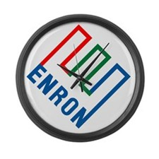 enron Large Wall Clock