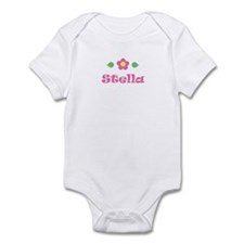 "Pink Daisy - ""Stella"" Infant Bodysuit"