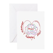 Peace Valentine Greeting Cards (Pk of 10)