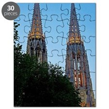 Votivkirche Night Puzzle